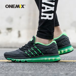 Wholesale Onemix new men running shoes unique design male athletic outdoor sneakers men zapatos de hombre