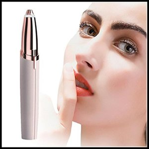 Wholesale Multifunction Lipstick Eyebrow Trimmer Face Brows Hair Remover Epilator Pen Mini Electric Shaver Painless Eye Brow Epilator