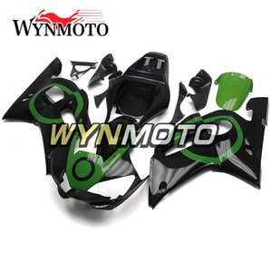 Wholesale Black Green Ring Sportbike Covers Panels For Yamaha YZF R6 Year Complete Fairing Kit Brand New Plastic Cowling