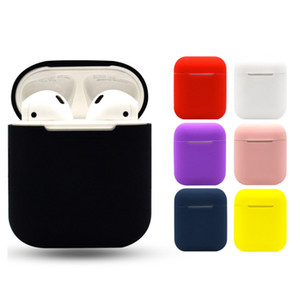 Applicable Airpods Silicone Case Wireless Bluetooth Headset Charging Box Cover