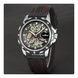 Luxury Sport A Special Watches For Men Skeleton Wrist Watches Automatic Winding Mechanical Movement Black Dial on Sale
