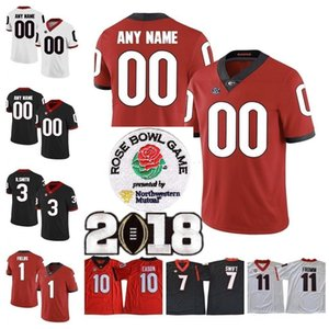 Wholesale 2019 Customs Georgia Bulldogs jersey personalized UGA Todd Gurley II Herchel Walker customized specially made College Football uniform