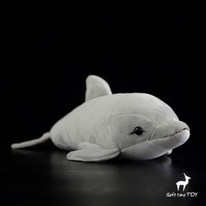 Wholesale Soft BabyToys Lovely Plush Dolphin Doll Real Life Stuffed Animals Toys Bottlenose s Dolls Birthday Gifts