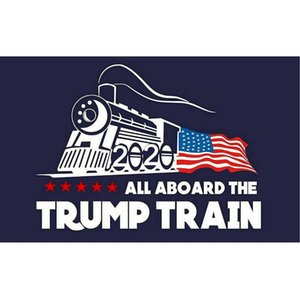 Wholesale Fashion Trump Car sticker Donald Iocomotive Stickers Train Window Sticker Home Living Room Decor Wall Stickers ZZA1348