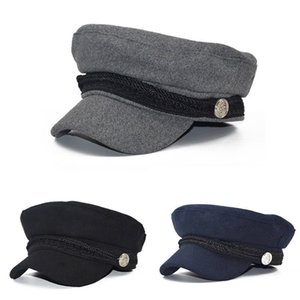 Wholesale Ladies Womens Girls Wool Blend Baker Boy Peaked Cap Newsboy Beret Hat Travel Hats