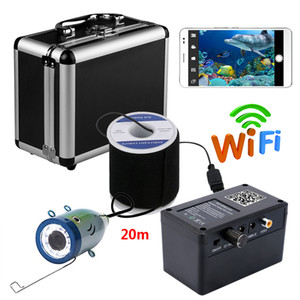 Wholesale PDDHKK Wifi Wireless Underwater Fishing Camera Video For IOS Android APP Supports Video Record Take Photo LED White Lights