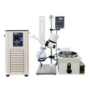 ZOIBKD New 2L Rotary Evaporator Lab Apparatus + low temperature coolant circulation pump