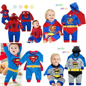 Wholesale 6 styles Spiderman Boys Coat Kids Spring Jacket Chirdren Lovely hoodies Outerwear spiderman Boys Clothes baby jumpsuits DHL JY637
