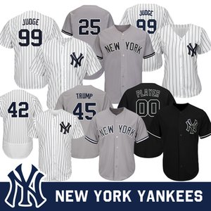 New York Derek Jeter Yankees Jersey 99 Aaron Judge 3 Babe Ruth 7 Mariano Rivera Mickey Mantle Yogi Berra Baseball Jersey on Sale