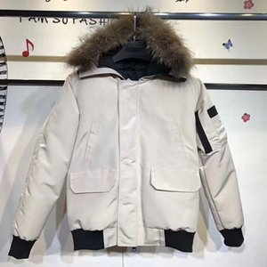 Wholesale Winter Down Parkas Hoody Canada Bomber Goose Jackets Zippers Designer Jacket Men Chilliwackbomber Warm Coat Outdoor Parka Online