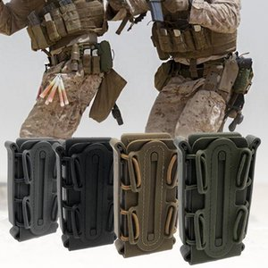 Wholesale Clip Box Holder Equipment Accessory Hunting Magazine Pouch Outdoor Tactical Hole Box Holder Soft Shell Wear Belt Accessory