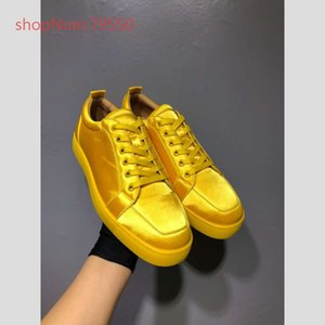 Wholesale Brand Red Bottom Sneaker Shoe Man Hot Casual Woman Fashion Rivets High Top Men Dress Party top quality Sneakers With Box