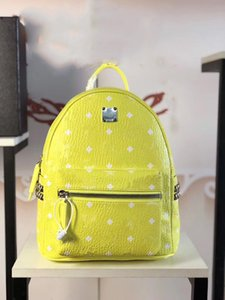 new fashion stark bebe boo backpack skyoptic rivets backpack school bag Fluorescent color  backpack two colors