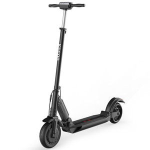 S1 Folding Electric Scooter 350W Motor LCD Display Screen 3 Speed Modes 8.0 Inches Solid Rear Anti-Skid Tire IP54 Waterproof