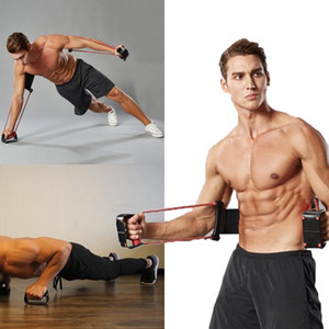 Wholesale Puller Exerciser Chest Expander Muscle Multifunction Easy to install use Exercise Fitness Equipment Sports