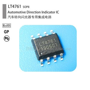 Wholesale ic integrated circuits resale online - Automobile steering indicator flasher integrated circuit IC LT4761 U2043 U6043B DIP8 S IC LT4761 U2043 U6043B SOP8 relay car turn
