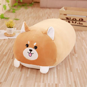 Wholesale Soft Animal Cartoon Pillow Cushion Cute Fat Dog Cat Totoro Penguin Pig Frog Plush Toy Stuffed Home Decor Cat pillow