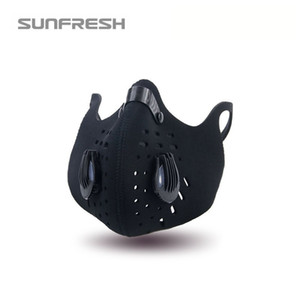 Wholesale silicone masks for sale resale online - Hot Sale Neoprene Adjustable Outdoor Riding Mask Breathable Full Face Bike Mask Anti Dust Cycing Mask for Outdoor Sports