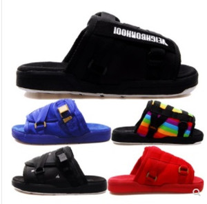 Wholesale New Brand Visvim Slippers Fashion Shoes Man And Women Lovers Casual Shoes Slippers Beach Sandals Outdoor Slippers Hip hop Street Sandals