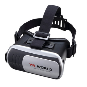 Wholesale New Quality D Virtual Reality VR Glasses Headset Box Helmet D Video Glasses In stock