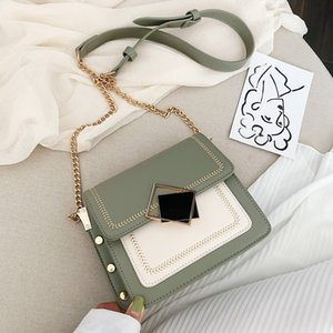 Wholesale 2019 new Korean one-shoulder chain bag leisure style cross-body small square bag ins super hot color bag