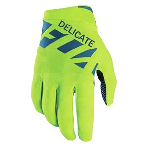 Wholesale NEW Delicate Green Raner MX Gloves Motocross Off Road Bicycle Riding Racing DH Gloves