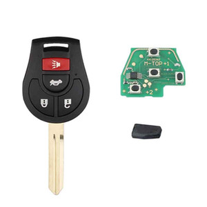 Wholesale nissan versa resale online - 315Mhz Remote Key for Nissan Rogue For Nissan Versa With ID46 Chip Original Keys