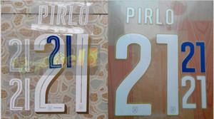 2014 2016 Italy home away PIRLO #21 nameset patch badge