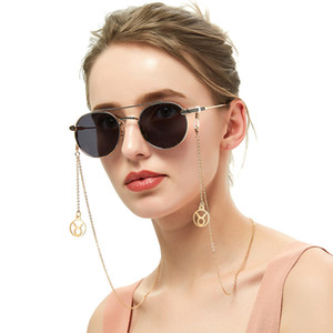 Wholesale 12 Zodiac Anti Slip Glasses Holder Long Drop Charm Constellation Sunglasses Chain Personalized Eyeglass Necklace Dropshipping