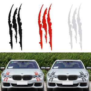 Wholesale claw stickers for sale - Group buy 40cm cm Funny Car Sticker Reflective Monster Scratch Stripe Claw Marks Car Auto Headlight Vinyl Decal Car Styling