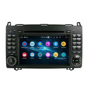 wifi für tv indien großhandel-4GB RAM DSP Core Android Car Audio DVD Player Auto DVD für Mercedes Benz B200 W169 W245 Viano Vito Radio GPS WIFI BT TV USB
