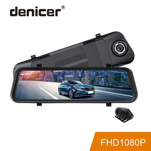 Wholesale 2019 Rear View Camera Stream Media Car DVR Touch Screen P Full HD Night Vision Driving Recorder New Large Mirror Dash Camera