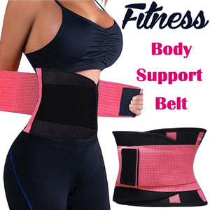 Women's Fitness Waist Support Waist Trimmer Corset Adjustable Tummy Trimmer Trainer Belt Weight Loss Slimming Belt CCA7222 66pcs