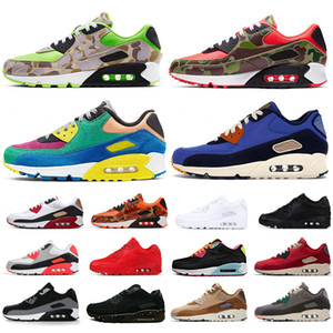 ingrosso scarpe da ginnastica fresche scarpe mens-Triple black Men women Running Shoes Classic Yellow red wheat s Sports Trainer Cushion Surface Breathable Sneakers
