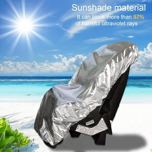 Wholesale seats for babies for sale - Group buy Light Baby Car Seat Sun Shade Cover For Child Kids Infant Auto Safety Seat Stroller Aluminium Film Sunshade Dust UV Protector