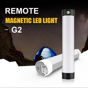 Wholesale remote camp light resale online - IR Remote Camping Light Bivvy Light USB Rechargeable Camping Tent Cabinet Dimmable Emergency Carp Fishing Lamp W Black