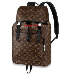 M43422 Zack Backpack Fashion Men Travel Bag Backpacks Fashion Shows Oxidized Leather Business Bags Handbags Totes Messenger Bags