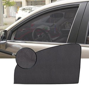 Wholesale auto side window sun shades resale online - Car Window Sunshade Cover Magnetic Curtain UV Protection Auto Side Windows Sun Visor Shield Mesh Sun Shade Protector Film