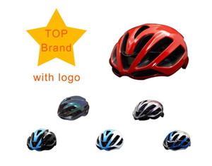 Wholesale cycling helmet red white blue resale online - 2019 MTB Cycling Helmet Aero red Road Bike Helmet Road mountain capacete Matte bicycle Helmet cascos ciclismo Mtb mountain M L T200730