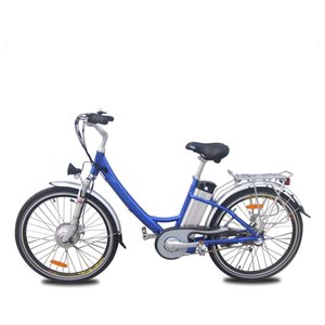 Wholesale hub motor bike for sale - Group buy Electric Bicycle Adult with v W Brushless hub motor Aluminum Alloy Frame Two Seat Battery Bike Electric Bike Ebike E bike