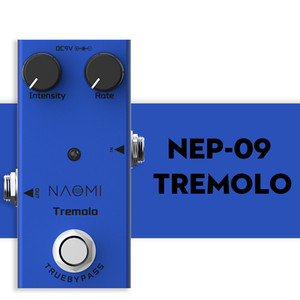 NAOMI NEP-09 Tremolo Guitar Effect Pedal True Bypass Electric Guitar Effect Pedal