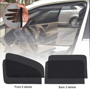 Wholesale auto window covers for sale - Group buy Magnetic Car Window Sunshade Cover Curtain UV Protection Auto Side Windows Sun Visor Shield Screen Protector Film