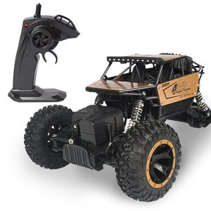 Wholesale used electric cars resale online - Rc car climbing alloy off road remote control car radio controlled car off road truck using minutes birthday gifts
