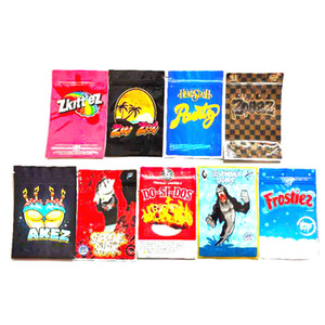 SilverBack Shark Bag Cakez Zunzet Zkittlez Dosidos Black Zourz Headstash Runtz 3.5~7g Smell Proof Packaging Bags For Dry Herb Flowers DHL