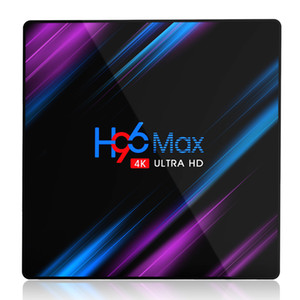 H96 Max Android 10.0 TV Box 4GB 32GB Rockchip RK3318 4k 2.4G 5G wifi Bluetooth 4.0 Set Top Box