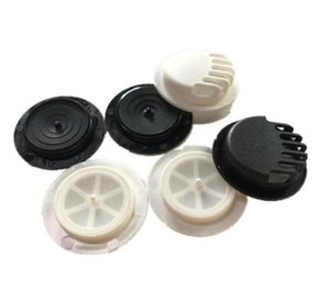 Wholesale one way valve resale online - US STOCK Mask Breathing Valve For DIY Mask Accessories Homemaking One Way Exhaust Mask Valves Black And White FY9144