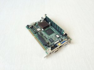Wholesale motherboard isa for sale - Group buy IAC H553 ISA Half length Card Integrated MMX233 CPU Industrial Motherboard