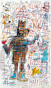 Wholesale hd classical paintings resale online - Jean Michel Basquiat Abstract art Untitled Drawing Home Decor Handpainted HD Print Oil Painting On Canvas Wall Art Canvas Pictures