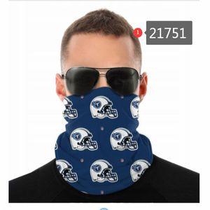 Football Designer Seamless Bandana for Rave Face Mask Dust Wind UV Sun Neck Gaiter Tube Headwear Motorcycle Cycling Riding Running Headbands