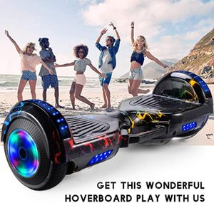 Wholesale bluetooth hoverboard resale online - Smart Wheel Hoverboard Skateboard Bluetooth Self Balancing Scooter Flash Wheels Wheels Self Balancing Scooter Dropship